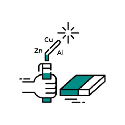Электроды для сварки и наплавки цветных металлов и сплавов